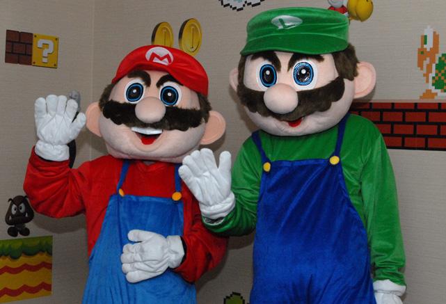 Mario and Luigi's Birthday Bash