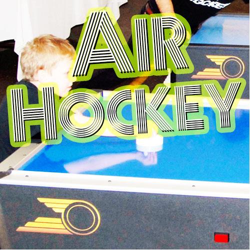 Amateur Air Hockey Tournament