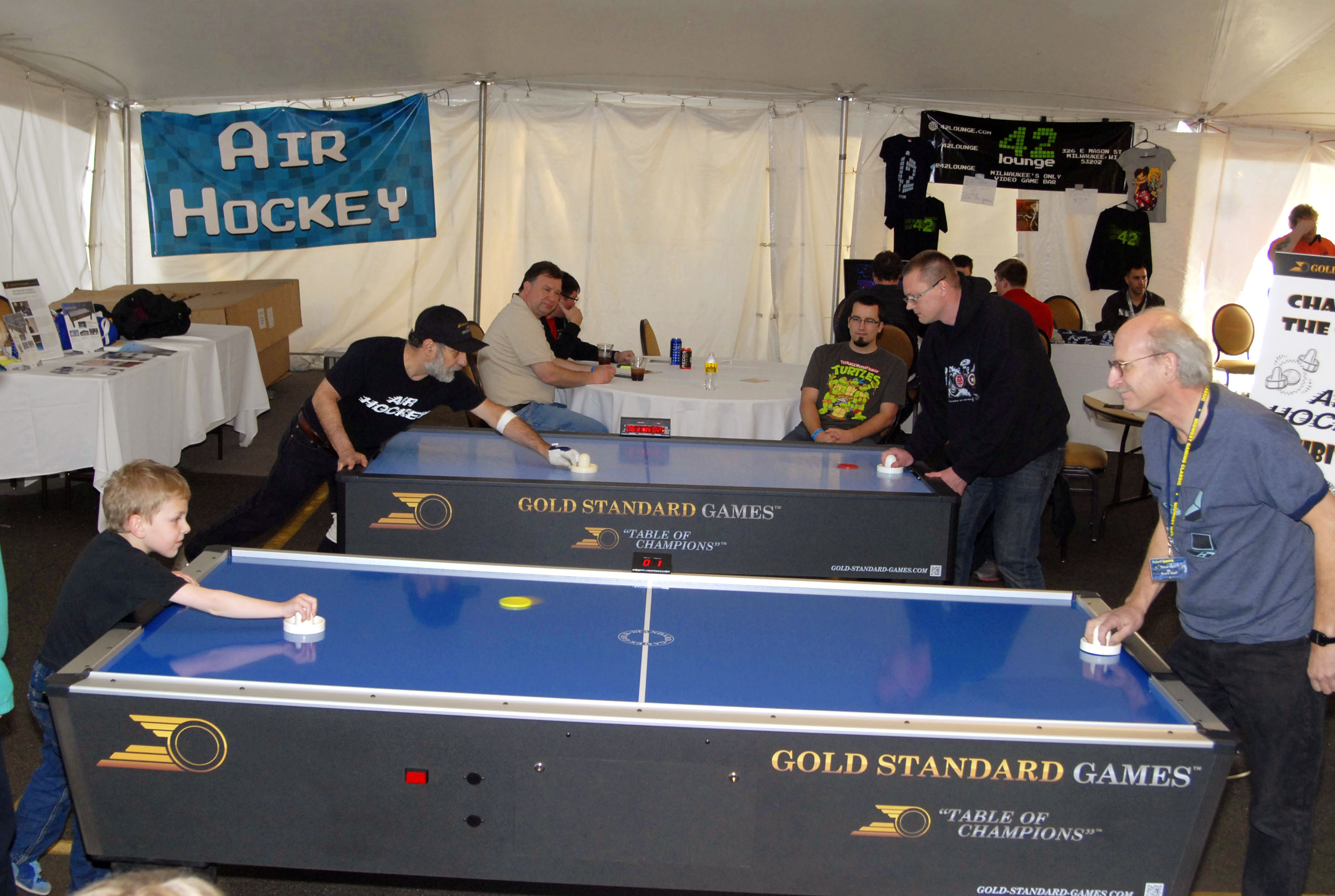 The Gold Standard Of Air Hockey