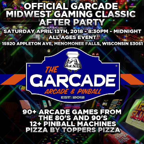 The Garcade After Party (All Ages!)