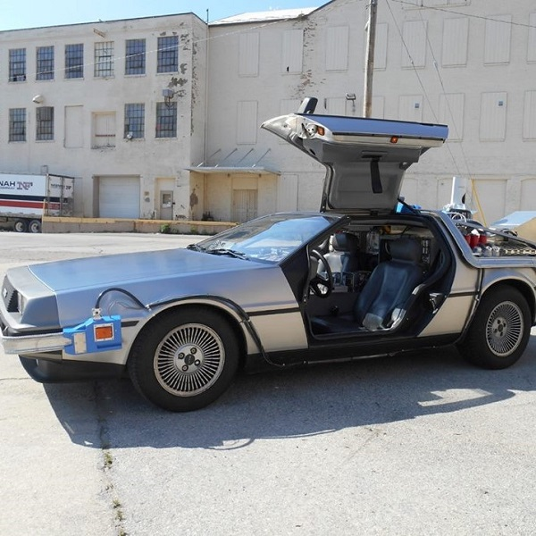 Time Machine DeLorean