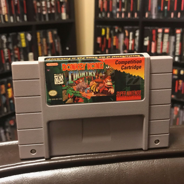 Donkey Kong Country Comp. Cart (SNES)