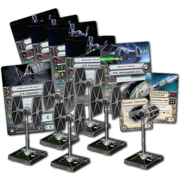 Star Wars: X-Wing 100 Point Fleet Face Off