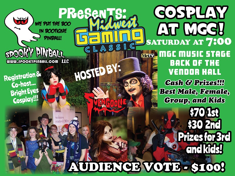 Official Cosplay Tournament Poster