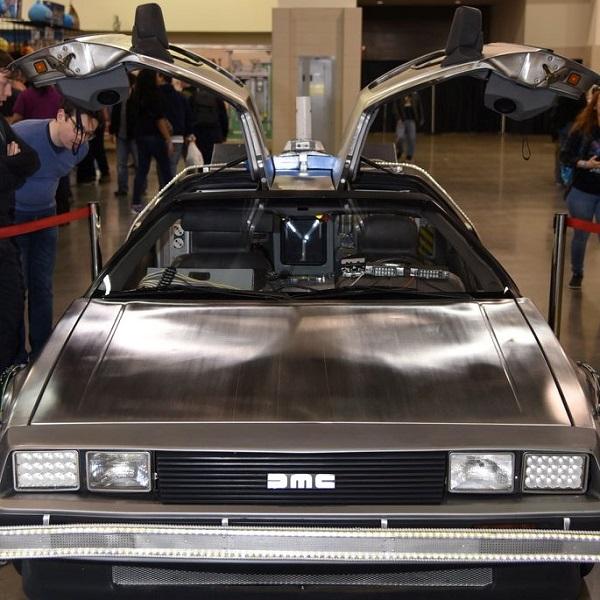 Time Machine DeLorean