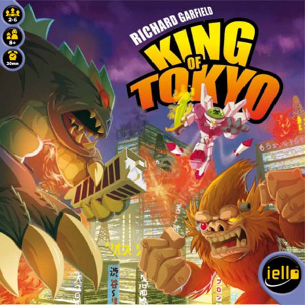 King of Tokyo: SMASH the Classic