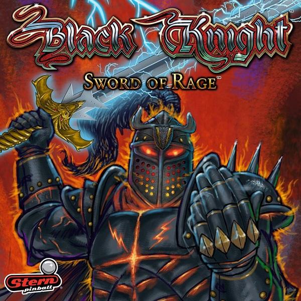 Black Knight Sword of Rage