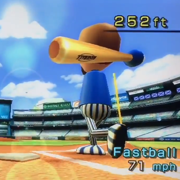 Wii Sports Home Run Derby (Wii)